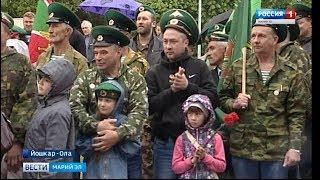 К 100-летию пограничных войск в Шелангере открыли памятник