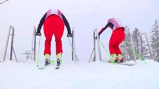 Cклоны Горного воздуха вовсю бороздят олимпийцы