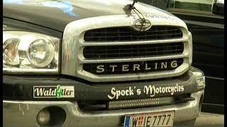 Немцы в городе. Участники международного автопробега сделали остановку в Челябинске