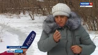 В Смоленском районе спасатели проводят противопаводковые мероприятия