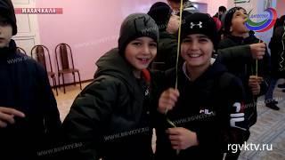 Тренеры по вольной борьбе посетили интернат «Забота»