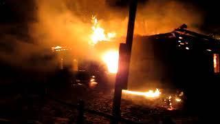 В Ивановской области на пожаре погиб мужчина