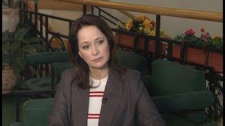 В интервью ТК «Югра» Ольга Кабо рассказала о своём дебюте в кино и трудностях актёрской работы