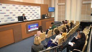 В ГТРК «Башкортостан» прошла первая пресс-конференция с участием врио минобра РБ Айбулата Хажина