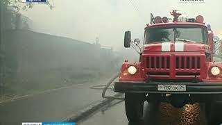 В Нижнеингашском районе при пожаре погибли женщина и двое детей