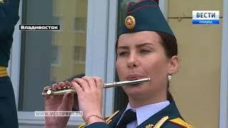 Курсанты военных училищ соревнуются в Приморье