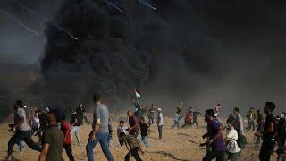 Протестные похороны в Газе
