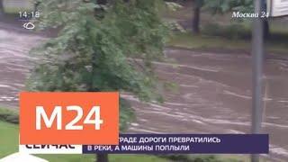 Ливни и грозы в Москве и регионах - Москва 24