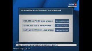 Официальные данные рейтингового голосования за благоустройство территорий в Чебоксарах пока не подсч