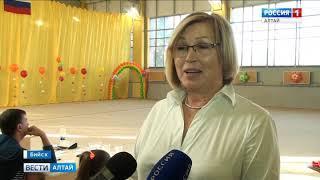 В Бийске прошёл открытый турнир по художественной гимнастике