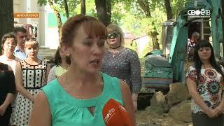 В Михайловске приступили к благоустройству центрального парка