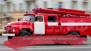 Мужчина попал в больницу после пожара в Соколе