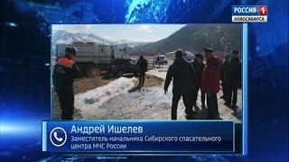 Спасатели выясняют, как поведет себя большая вода на подступах к Новосибирску