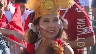 Перуанцы - лучшие фанаты Чемпионата мира по футболу 2018г.