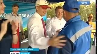 Лучшего пахаря выбрали в Иркутской области