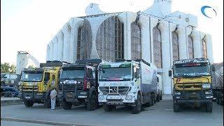 Участники международного ралли «Шелковый путь» сделали остановку в Великом Новгороде