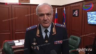 Министр внутренних дел Дагестана поздравил коллег с праздником