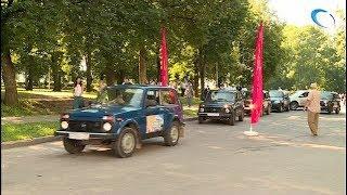 В Великом Новгороде побывали участники джип-тура «Дорогами Сердюкова»