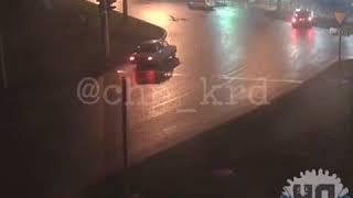 ДТП на скользкой дороге. Краснодар, 13 февраля