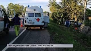 Подробности аварии в Ростовском районе: пострадали двое взрослых и двое детей