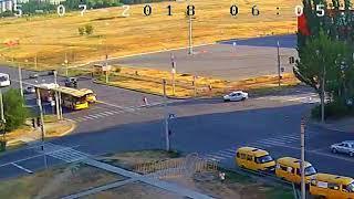 ДТП (сбит пешеход г. Волжский) ул. Карбышева ул. Оломоуцкая 05-07-2018 06-05