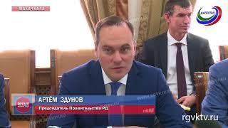 Премьер-министр Дагестана обсудил перспективы сотрудничества с индийским послом