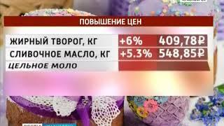 В Красноярском крае подорожал пасхальный стол