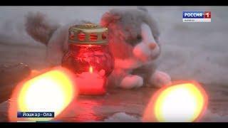 В память о погибших в Кемерове йошкаролинцы зажигали свечи - Вести Марий Эл