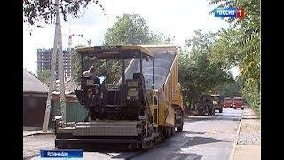 Ремонт ул.Тибетской в Ростове закончат к концу недели