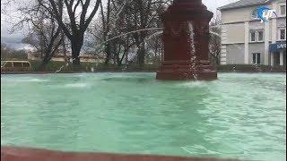 В Великом Новгороде начинают запуск фонтанов