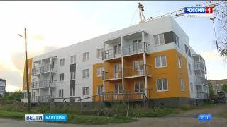 Глава Карелии проверил строительство новых домов для переселенцев