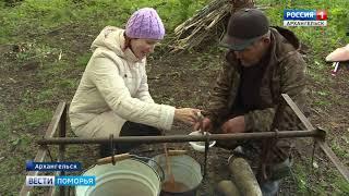 В Архангельске на реке Юрас прошёл городской чемпионат по ловле на поплавочную удочку