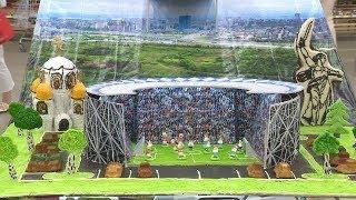 Кондитеры испекли торт в форме стадиона «Волгоград Арена»