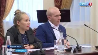 Губернатор области Игорь Орлов с рабочей поездкой в Нарьян-Маре