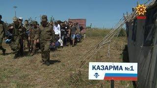 В Чебоксарах начались военно-спортивные сборы «Патриот»