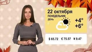 Погода на 22 октября