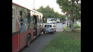 Мигающий зеленый сигнал светофора стал причиной ДТП с хабаровским автобусом. Mestoprotv