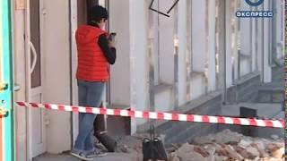 В Пензе на ул. Московской обрушилась часть дома