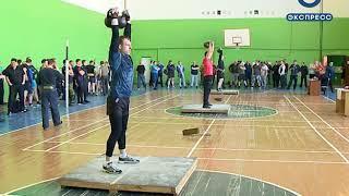 В Пензе силовики выявили лучших в гиревом спорте