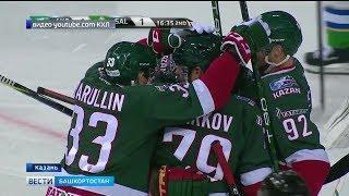 «Салават Юлаев» проиграл второе подряд «зелёное дерби»