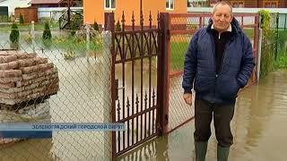 «Добро пожаловать в аквапарк»: дачные посёлки под Зеленоградском уходят под воду