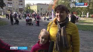 Новая детская площадка появилась в Петрозаводске