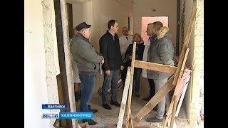 Кравченко провели ремонт Центральной районной больницы Балтийска