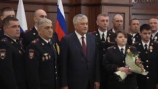 Глава МВД России наградил полицейских из Волгограда за спасение пенсионера