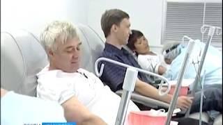 В Красноярске отметят национальный день донора массовым забором крови