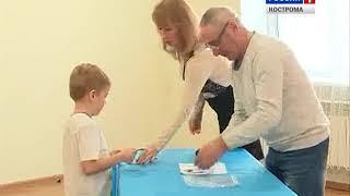 Впервые в Костромской области значки ГТО получили 6-летние дети