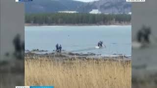 В Железногорске погиб рыбак, не дождавшись помощи спасателей