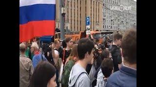 В Москве проходит митинг в поддержку Telegram