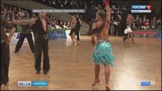 Танцевальная пара из Петрозаводска - чемпионы России