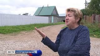 Жители деревни Воркопь жалуются на разбитые дороги